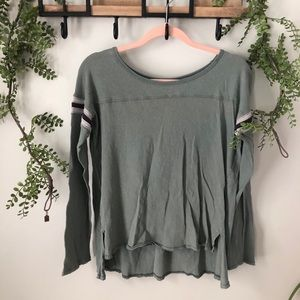 Free People | We The Free muted olive longsleeve